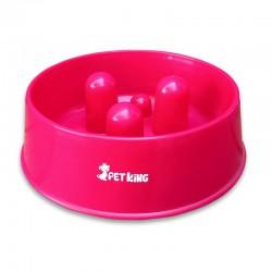 Collar apliqué 5 huesitos colores fluor 2,5 x 55cms